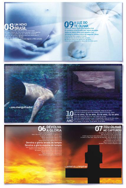 Agência Design gráfico de capa de cd ministério nova geração