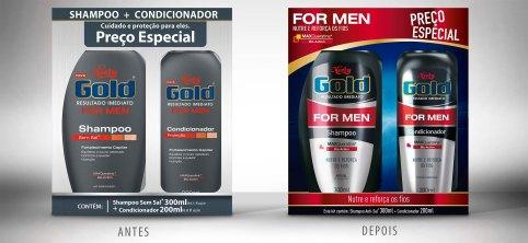 COMPARATIVO redesign de niely gold for man men