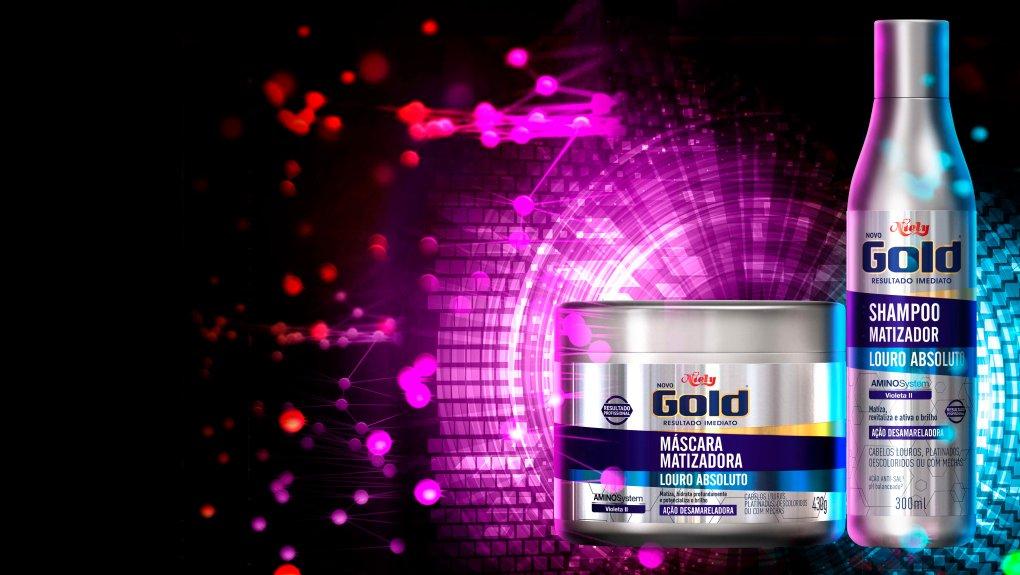 K Visual Niely Gold Matizador desamarelador