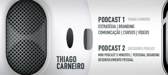 podcast thiago carneiro de design gráfico e branding