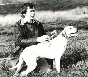 Ben Long with dog