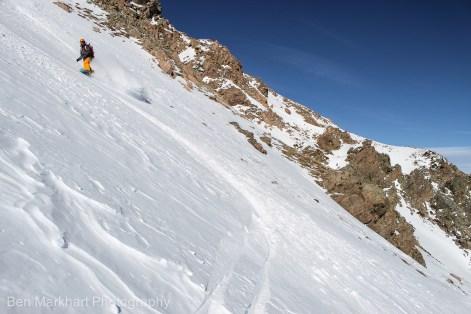 south east face uneva ski tour-12