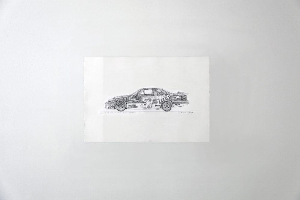 DAYS OF THUNDER, CHEVROLET LUMINA STOCKCAR NASCAR, COLE TRICKLE