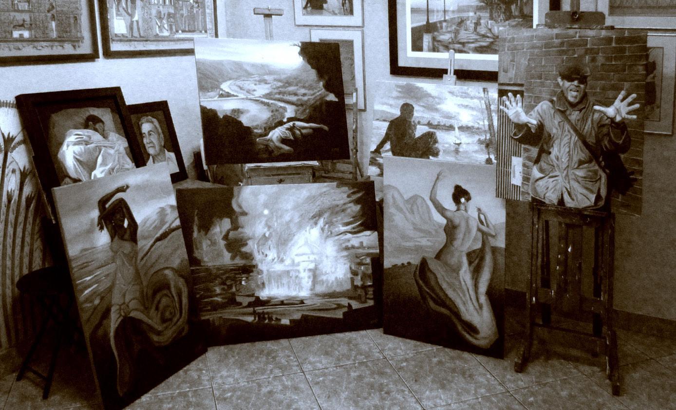 Cómo un artista plástico puede contribuir a una causa benéfica sin regalar su obra de arte