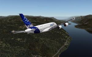 x-plane flysimulator