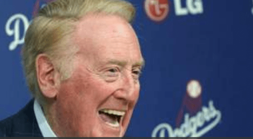Vin Scully, a first class baseball writer (radio division)