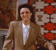 My name-sort-of-doppelganger: Elaine Benes