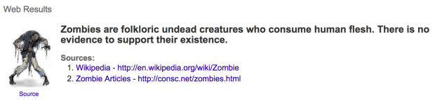 Zombies can help us write better, even though they don't actually exist.