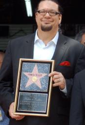 Master showman Penn Jillette in 2013