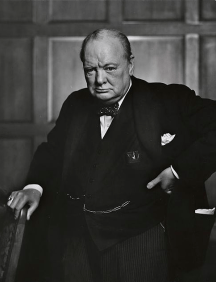 Winston Churchill, not a standup comedian