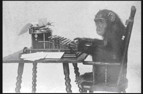 even a monkey at a typewriter can stumble on rhetorical techniques