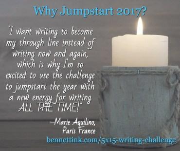 5x15 Writing Challenge