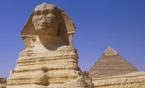 Seeing the pyramids in Egypt helped President Obama think about his legacy