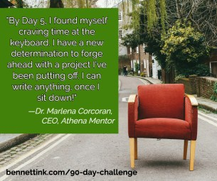 """By day 5 I found myself craving time at the keyboard."""" - Dr. Marlena Corcoran"""