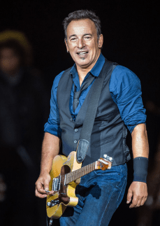 Springsteen sings about hope