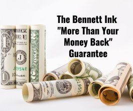 """Our """"more than your money back"""" guarantee"""
