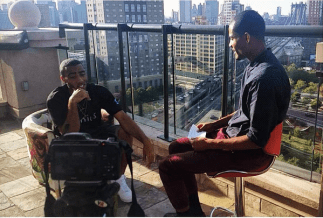 BennettKnows interviews Miami rapper Bizzy Crook in Brooklyn, New York. (September 2014).