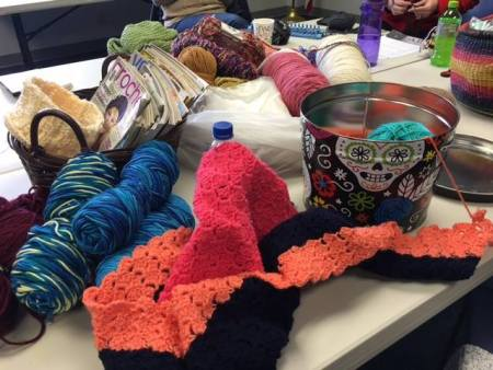social knitworking pic