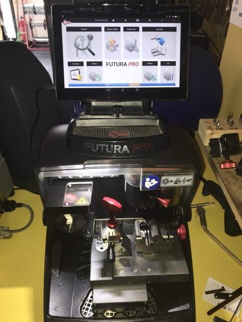 Futura Pro Key Cutting Machine