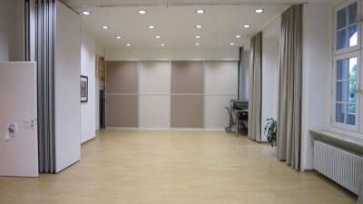 OBA-München Raumteiler mit Schiebetüren Silent Alu Flex
