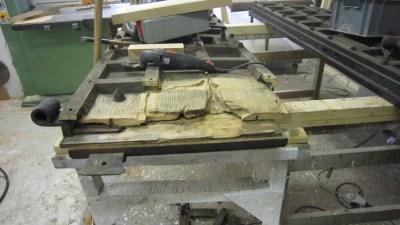 Repair-Care Wiederherstellung Unterstück Kirchentüre Entfernung defektes Holz