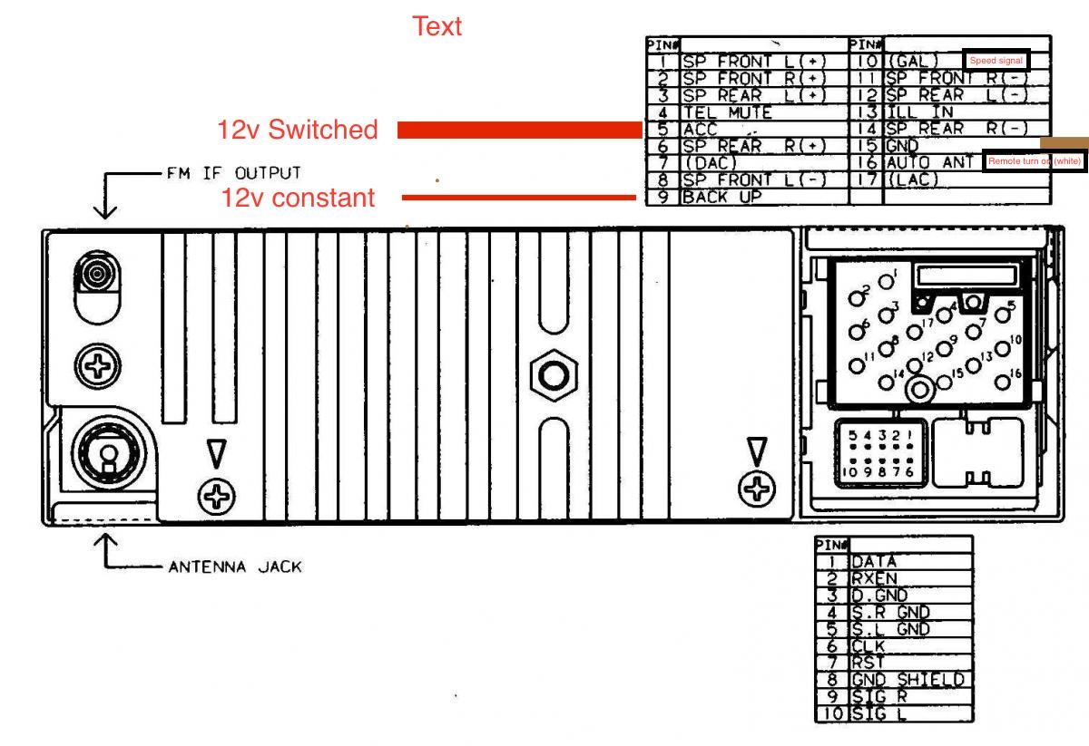 hight resolution of cd43 radio harness u2013 benno u0027s 928a beginners guide to owning driving