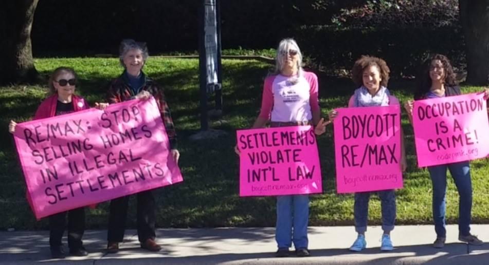 No Open House protesters in Dallas, Texas on 29 November  CREDIT: Facebook