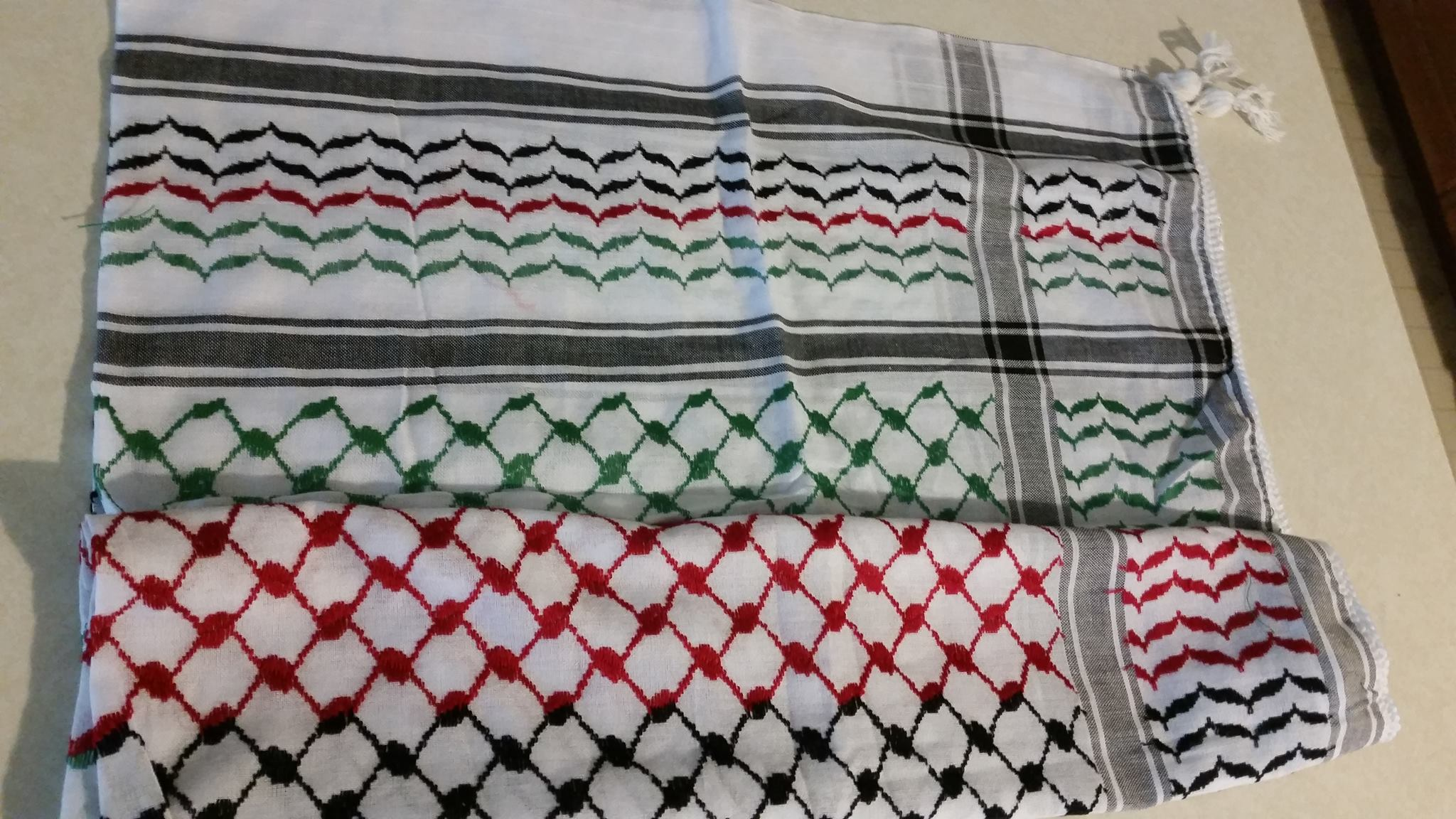 On the Keffiyeh, Palestine, Solidarity, and Cultural Appropriation
