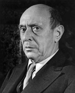 Arnold Schoenberg, one of the most important figures in the history of Western art music