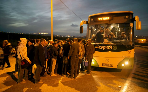 Under Israeli Apartheid, Palestinians Cannot Ride Israeli Buses