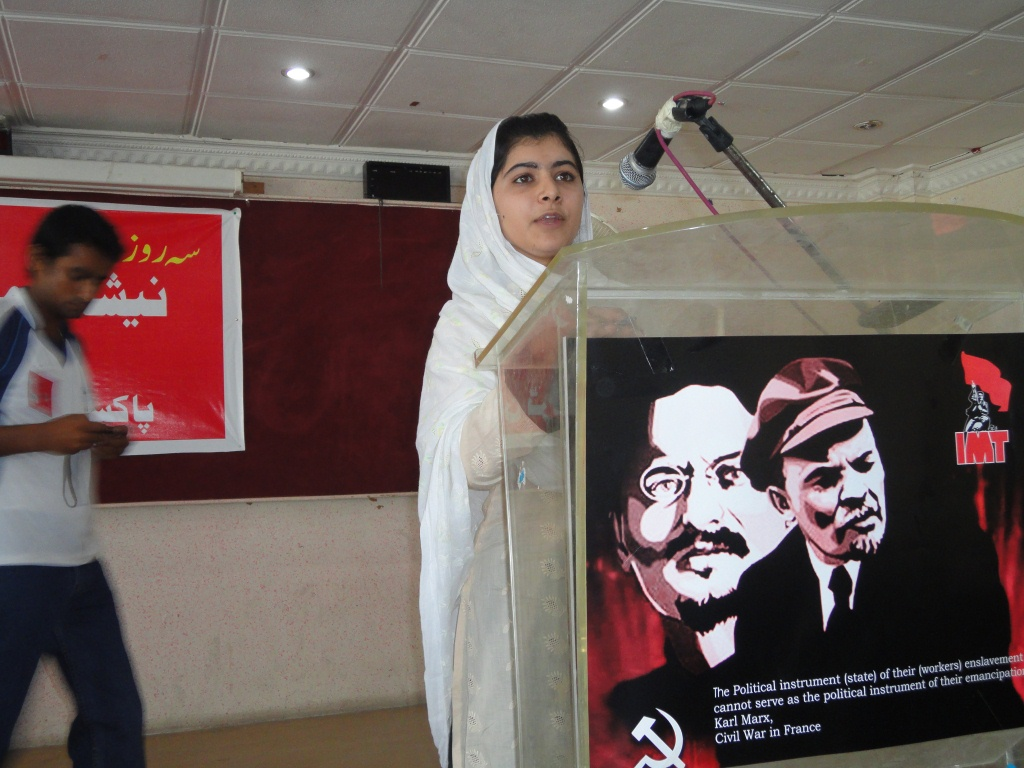 The (Socialist) Malala Yousafzai the US Media Doesn't Quote