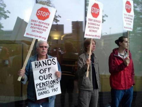 Wall Street Robbing Public Workers' Pensions