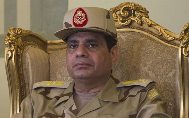 "Divine Right of Presidents: Sisi Says He's ""a Blessing from God"""