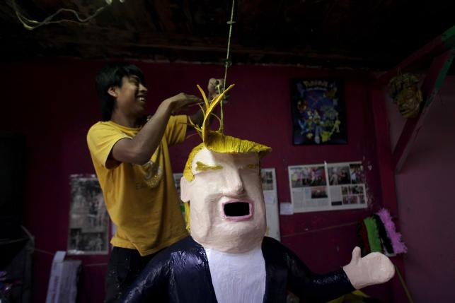 Mexicans Know How to Deal with Racists Like Donald Trump: Turn Them into Piñatas
