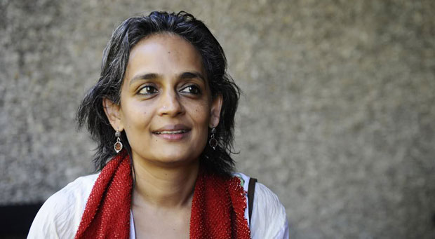 Arundhati Roy on the Naxalites, Gandhi, and Non-Violence