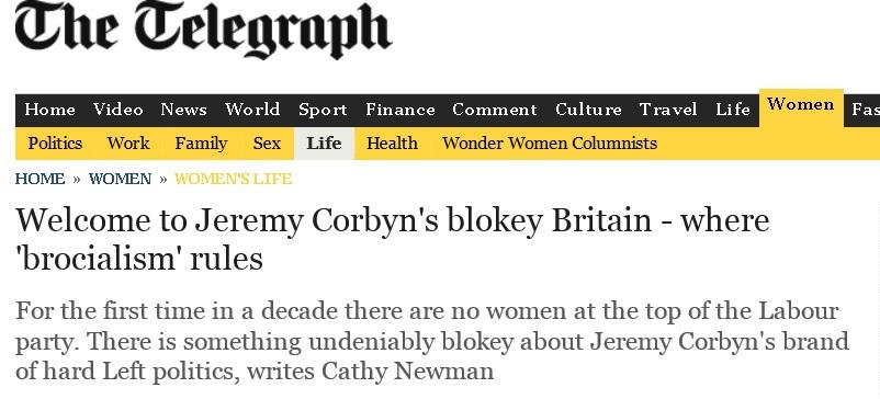 telegraph brocialism