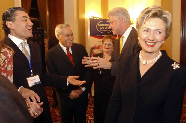 """Top Clinton donor, """"Koch Brother of Israel"""" Haim Saban, supports profiling and """"intense"""" interrogation of refugees"""