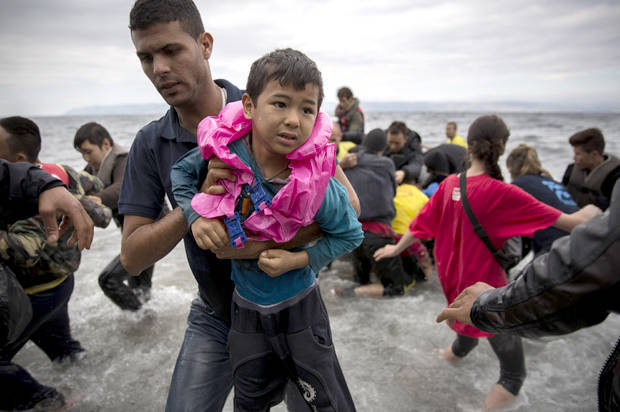 """Year of """"human suffering"""": U.N. sounds alarm over the millions of refugees targeted by """"xenophobic policies and alarmist rhetoric"""""""