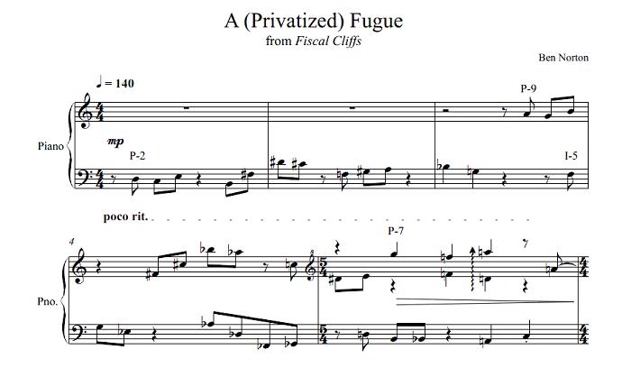 A (Privatized) Fugue