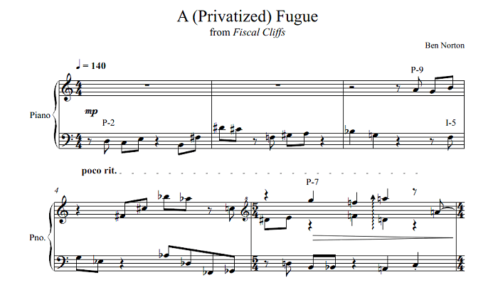A (Privatized) Fugue