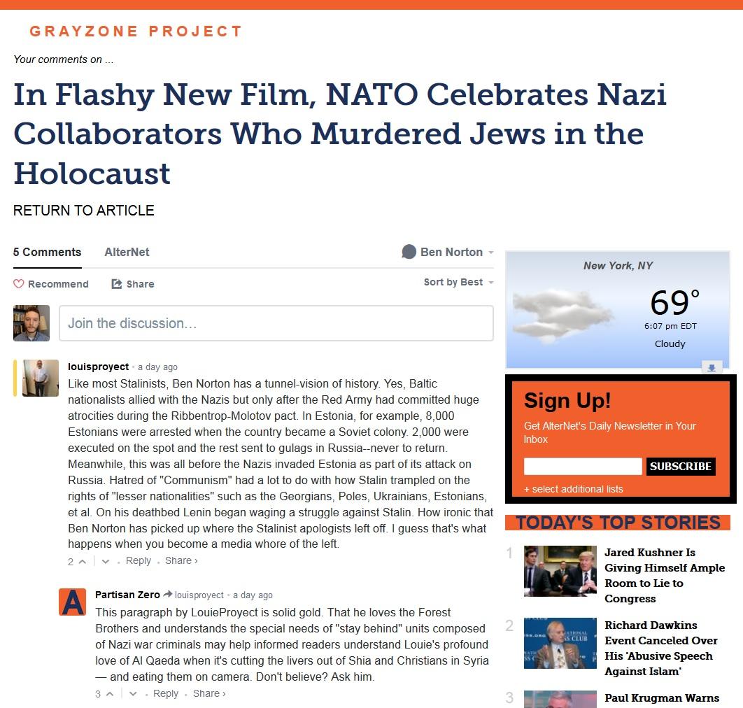 louis proyect nazi apologist