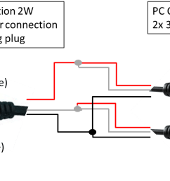 audio jack wiring diagram for pc [ 1354 x 595 Pixel ]