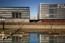 Architecture at Innenhafen