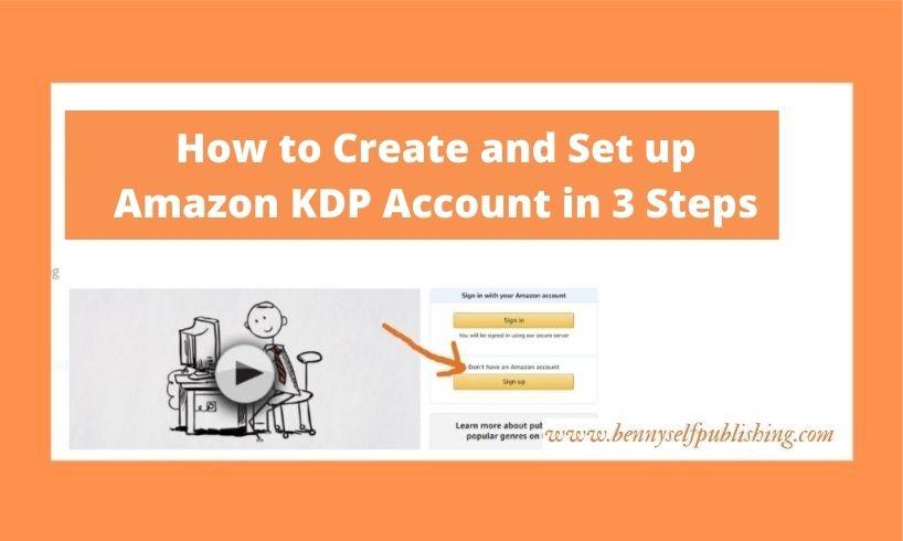 amazon kdp account