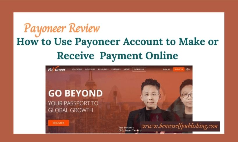 payoneer account