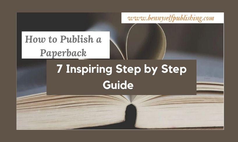 publish a paperback