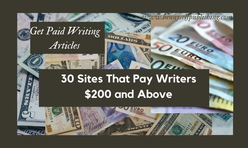 get paid writing articles