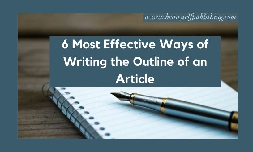 outline of an article