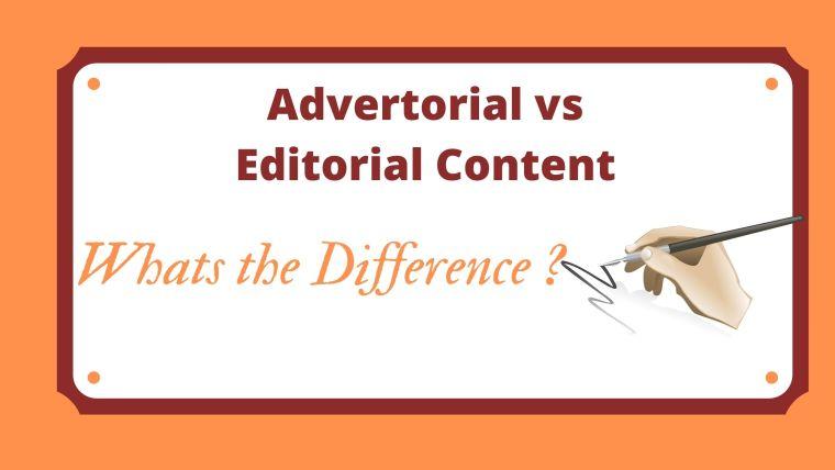 Advertorial vs Editorial