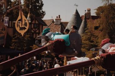Dumbo the Flying Elephant at Disneyland
